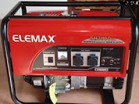 Genset Elemax SH 3900 EX - Jual Elemax SH 3900 EX Bekasi