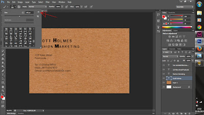 adobe, photoshop, tutorial, graphic design, business card