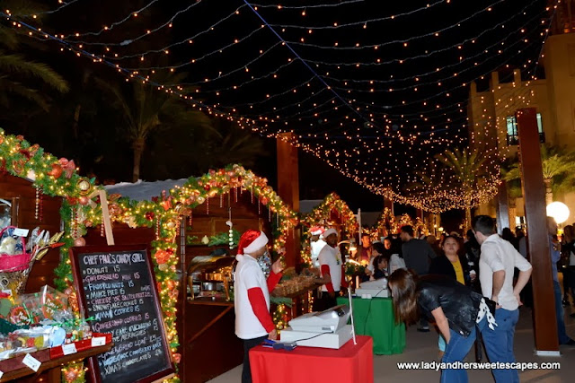 Seasonal food and beverages at Souk Festive Market