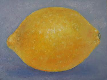 Un limón (16x12 cm)
