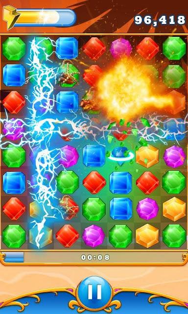 Elmas Patlatma (Diamond Blast) Android Apk Oyunu resimi 2