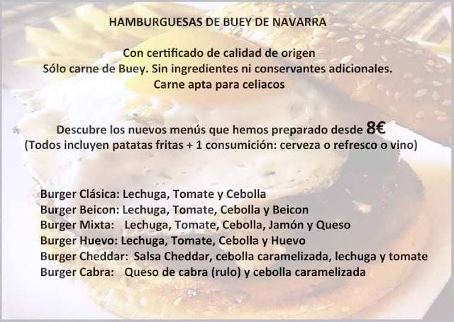 Cenar en Soto del Real hamburguesa gourmet