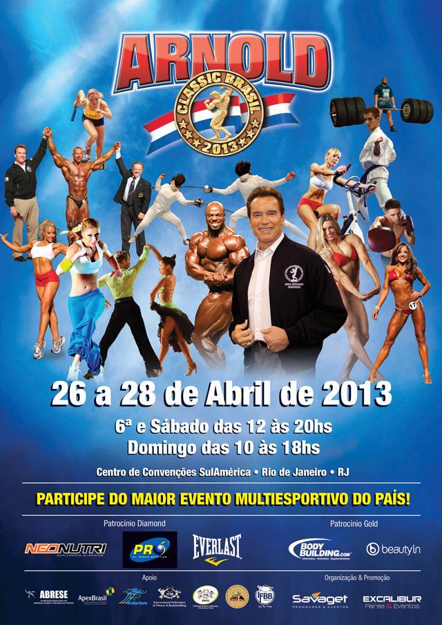 Arnold Classic Brasil 2013 - Foto: Divulgação