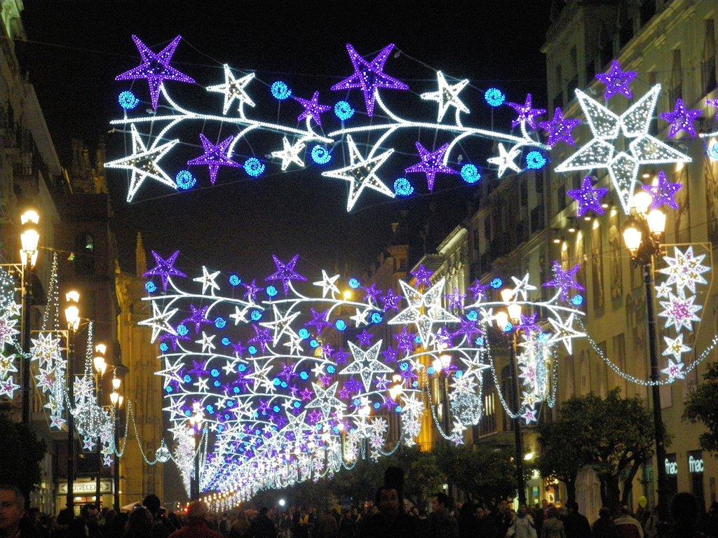 Navidad 2011 sevilla aznalfarache - Iluminacion de navidad ...