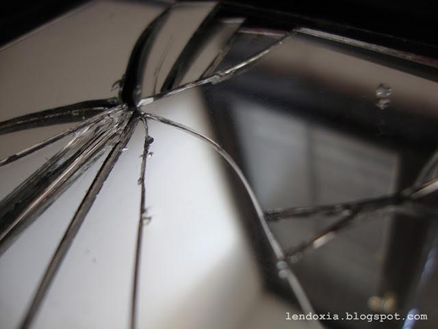 slomljeno ogledalo