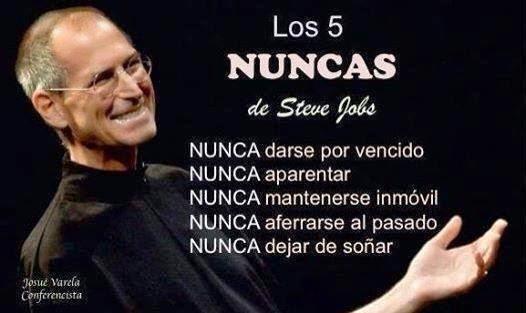 Los 5 Nuncas de Steve Jobs | Reflexiones de Superación