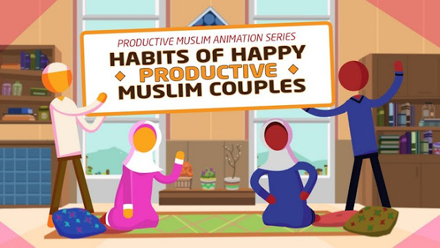 Serial animasi keluarga: Saling mencintai karena Allah