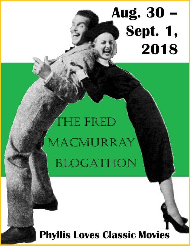 The Fred MacMurray Blogathon