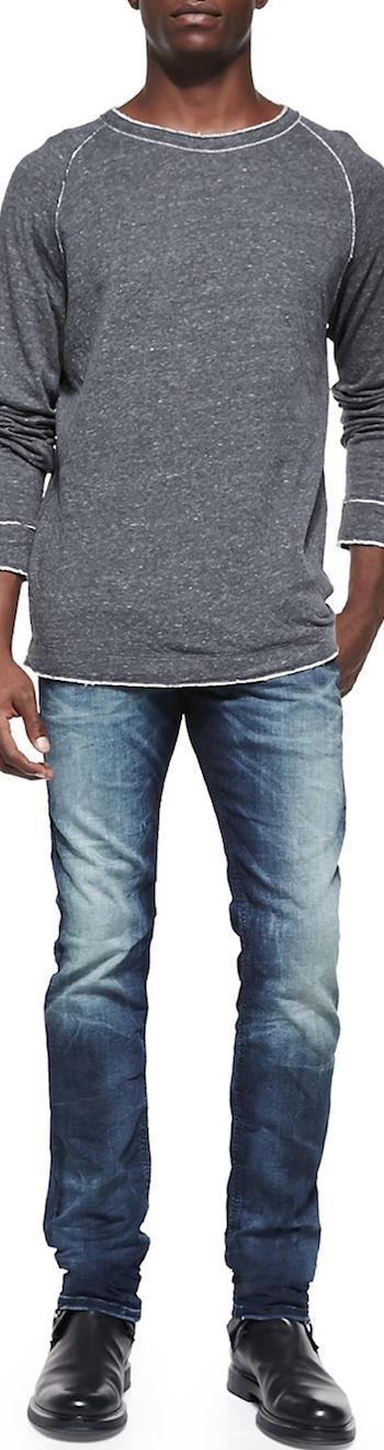 Diesel Slumis  Sweatshirt Thavar 600S Skinny Jeans