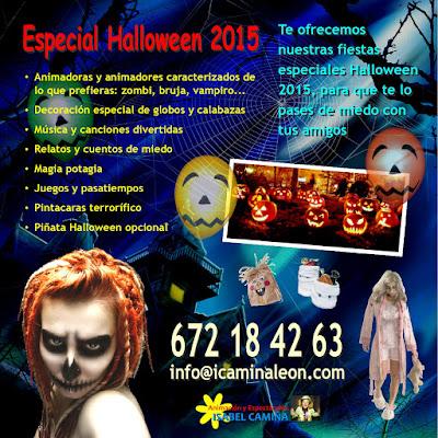 Animación infantil para Halloween