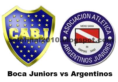 Boca Juniors vs Argentinos en vivo, en Canal 7 online