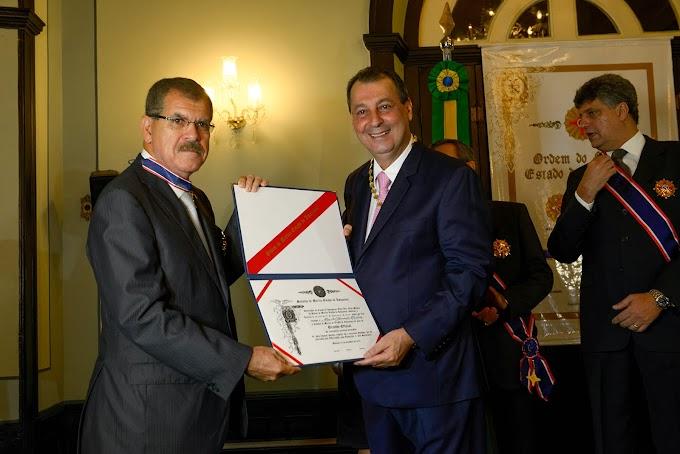 'Foi o maior presente de Natal', diz Omar Aziz sobre ser eleito o melhor governador do Brasil