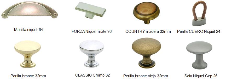 Ramproduce accesorios para muebles tiradores 8 - Tiradores y pomos para muebles ...