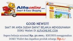 Kemudahan transaksi saat belanja di alfaonline.com toko belanja online murah