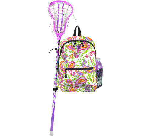preppy player scout lacrosse stick bags are in