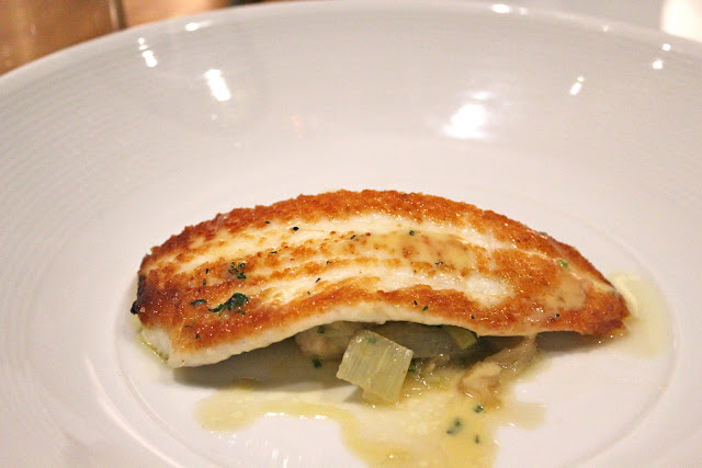 Lemon sole at Catalyst, Cambridge, Mass.