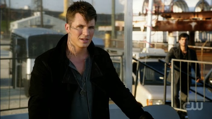 Star-Crossed Roman speech Arrival Day memorial Matt Lanter