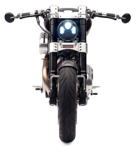 Dhoni bike Confederate X132 Hellcat