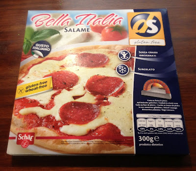 ds gluten free salami pizza