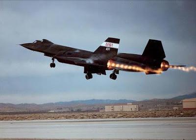 US SR-71 Blackbird strategic Reconnaissance Aircraft