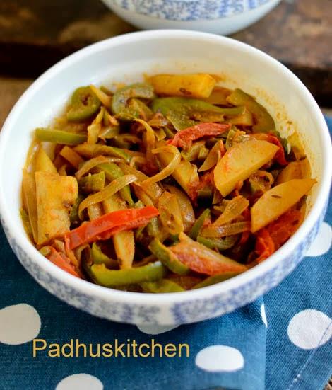 capsicum sabji