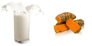 Khasiat Luar Biasa Minum Susu Campur Kunyit