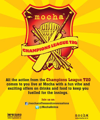 Champions League T 20 at Mocha Outlets New Delhi