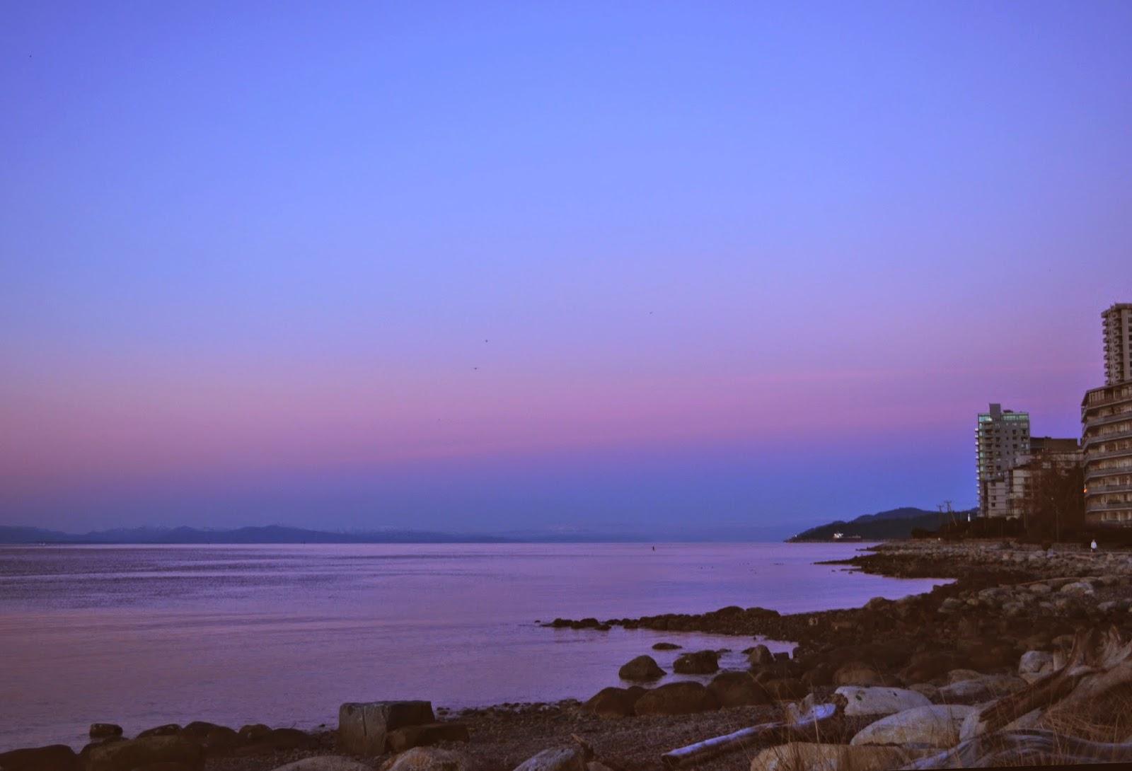Ambleside Beach Sunrise by Northern Rustication