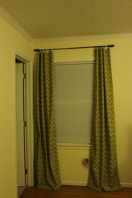 the handcrafted life window balancing master bedroom curtains. Black Bedroom Furniture Sets. Home Design Ideas
