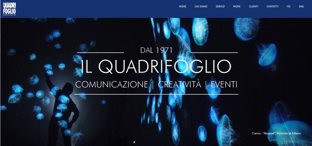 Il Quadrifoglio comunicazione sul nuovo sito www.quacom.it