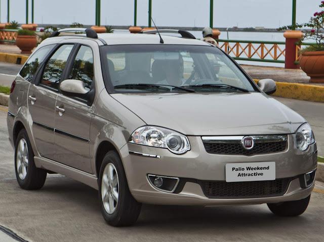 Fiat Palio Weekend - segundo carro mais roubado do Brasil