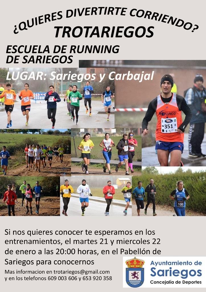 escuela de running trotariegos sariegos