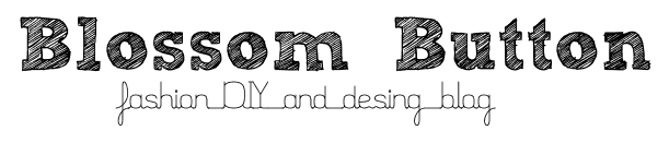 blossom button_בלוג אופנה