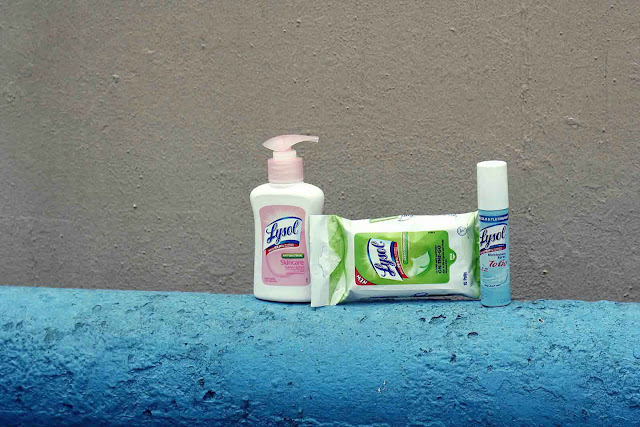 Lysol's On-the-Go Trio of Protection
