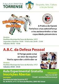 Aulas de Karate e defesa Pessoal