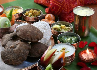 Pure vegetarian Vrat thali in Delhi