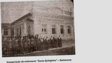INAUGURAÇÃO ENFERMARIA SANTA EPHIGENIA OUTUBRO DE 1935