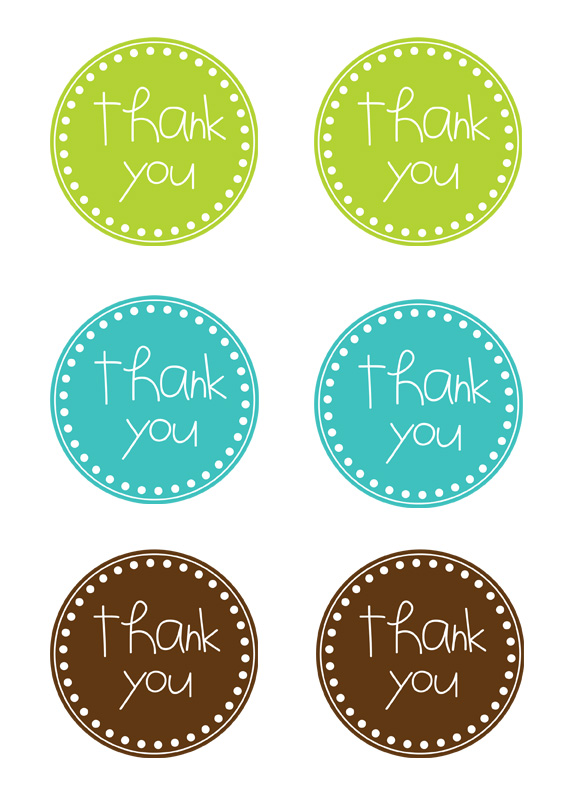 Dramatic image in free printable thank you tags for favors
