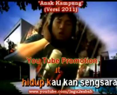 Lagu, Sabah, Anak, Kampung, Jimmy, Palikat, Versi, 2011