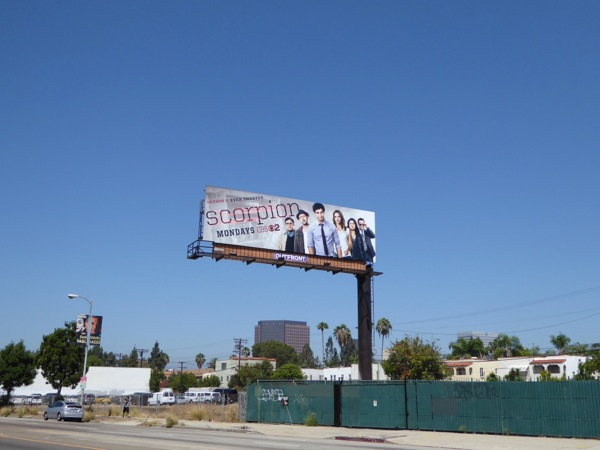 Scorpion season 2 billboard