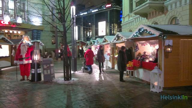 Joulumaalima on Mannerheimintie