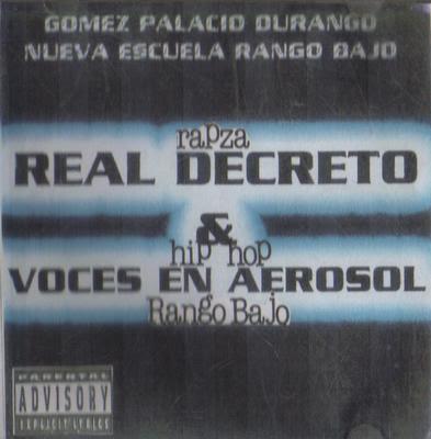 Real Decreto y Voces en Aerosol - Nueva escuela