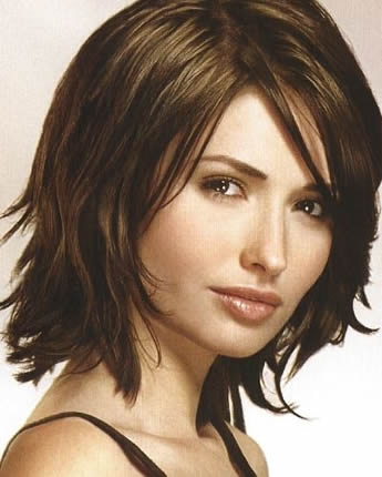 Layered Haircuts  Medium Length Hair on Length Hairstyle With Layering Around The Perimeter Of The Hair
