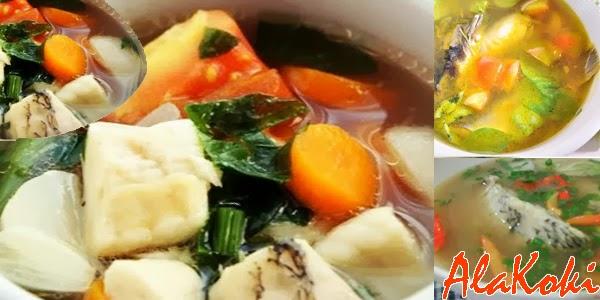 Resep Sup Ikan Gurame dan Cara Membuat