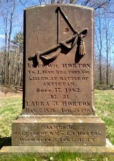 CONN. ANTIETAM DEATHS