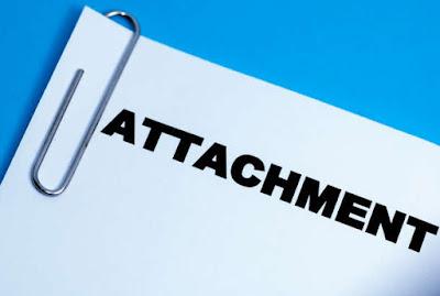 pengertian attachment, fungsi attachment file