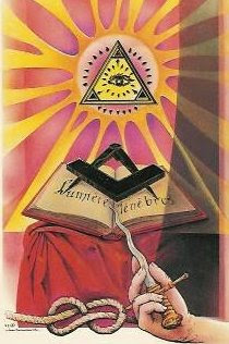 Freemasons document and symbolism