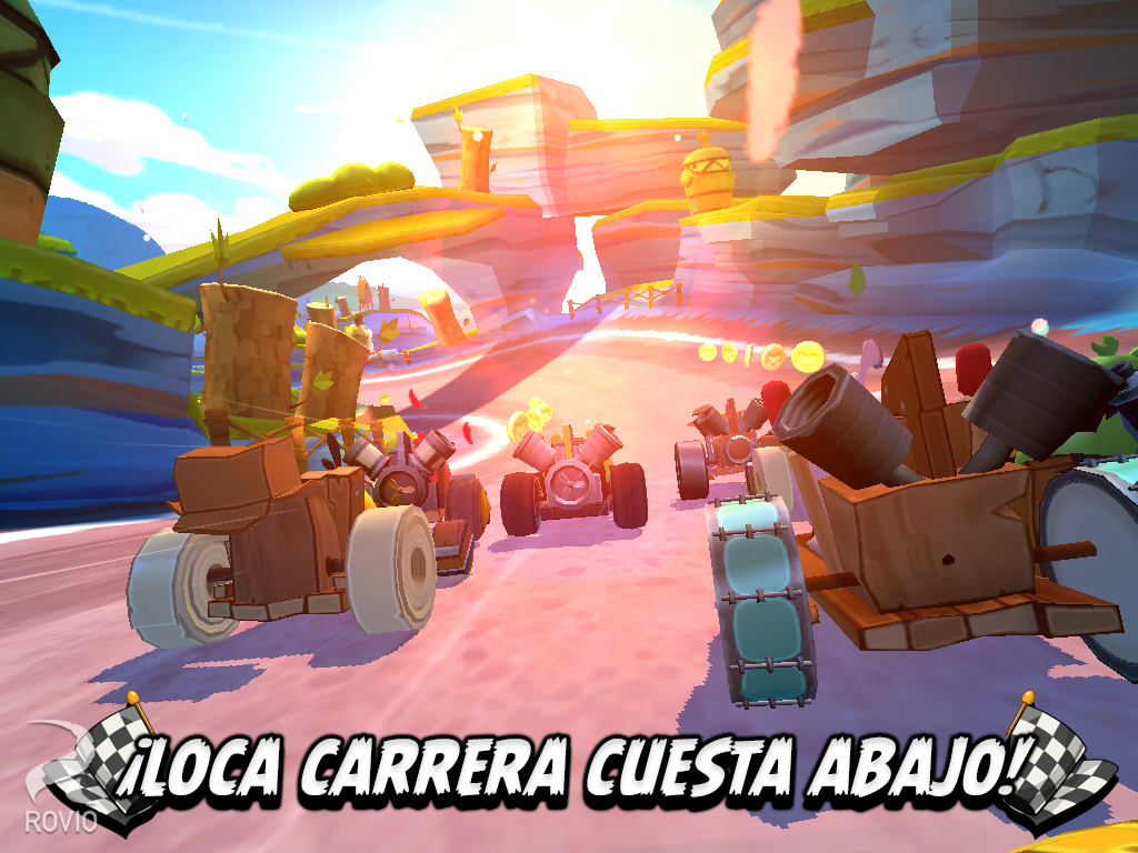 Angry Birds Go! para Android, iOS, Windows Phone y Blackberry