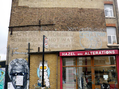 crane house decorator ghost sign stoke newington