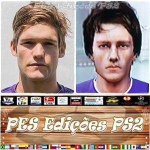 Marcos Alonso (Fiorentina) ou Espanha PES PS2
